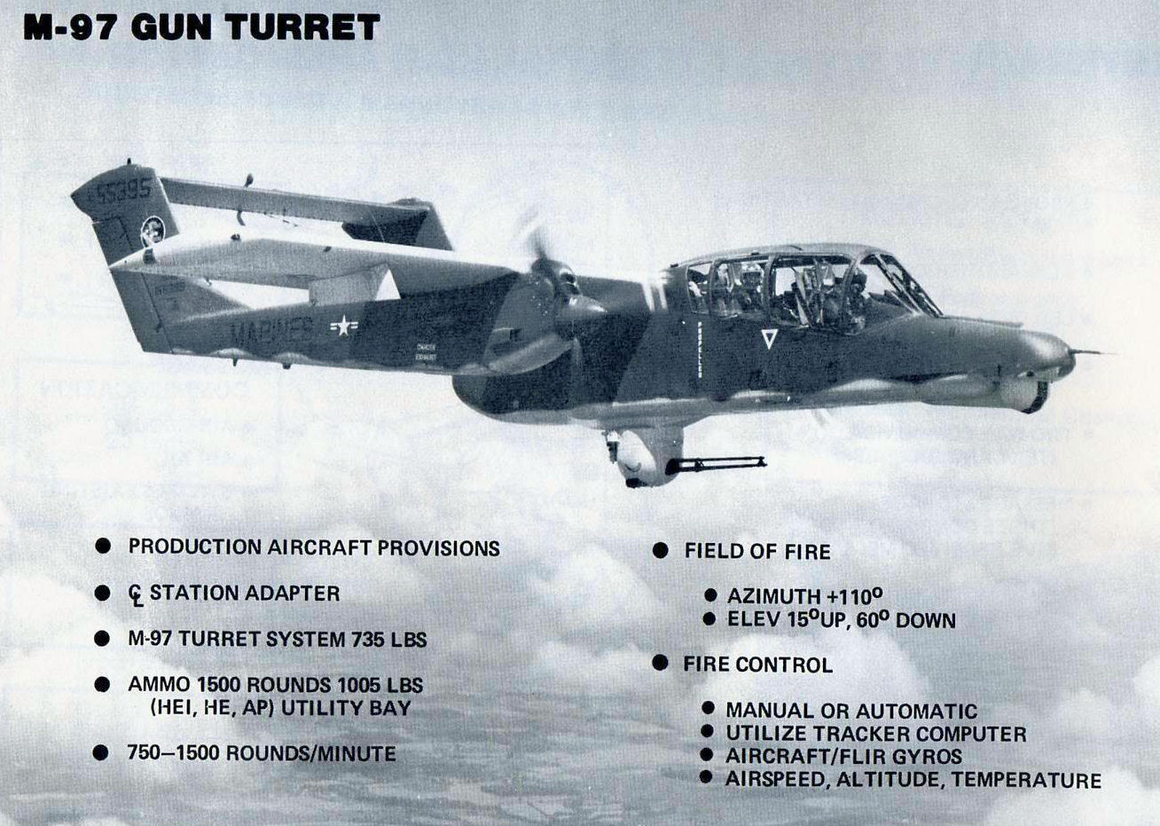 The OV-10 Bronco By The Numbers