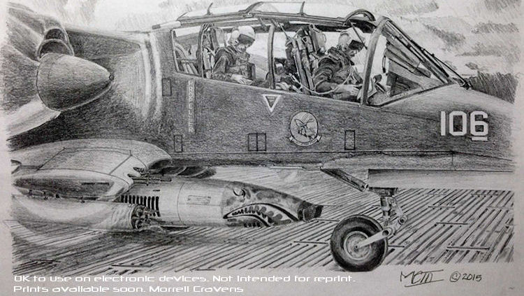 VAL-4 Bronco Drawing