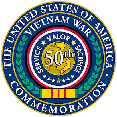 Vietnam 50th Anniversary Commemoration Logo